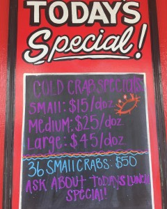Todays specials! Todays lunch special 12 lb medium shrimp withhellip